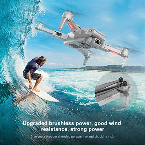 Iunser S608 6K HD Cameras Drone Quadcopter para adultos y niños, Smart Return To Home, Rc Quadcopter con Altitude Hold Drone plegable para principiantes (naranja)