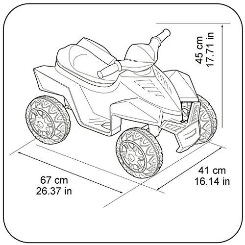 Feber Racy Minnie Quad Elettrico per Bambini, 6 V, Multicolore, 800012022