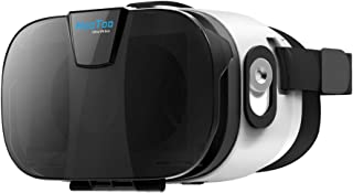HooToo 3D VR Headset with Magnetic Trigger, Upgraded and Much Lighter Version Virtual Reality Goggles, VR Glasses(No Exter...