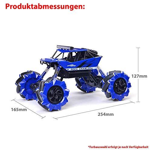 RC Auto kaufen Monstertruck Bild 3: Ferngesteuertes Auto RC Auto,2.4GHz Ferngesteuertes Monstertruck,High Speed RC-Auto mit wiederaufladbaren Batterie*
