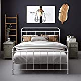 DHP Beaumont, Queen, White Metal Bed