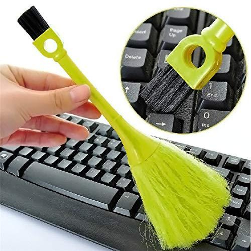 Tofree Mini Computerbürste/Tastatur Pinsel/Bildschirm Pinsel/Desktop Staubpinsel/Multifunktions-Tastatur Reinigungsbürste, zufällige Farben