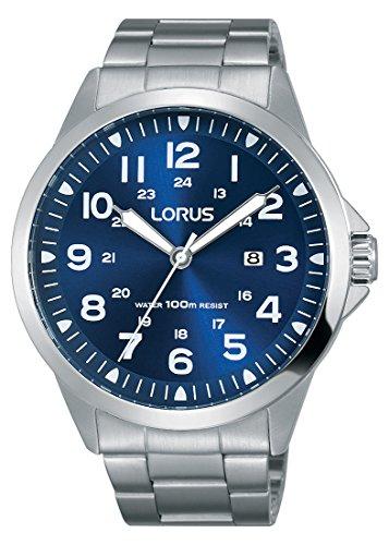 Lorus Sport Herren-Uhr Edelstahl mit Metallband RH925GX9