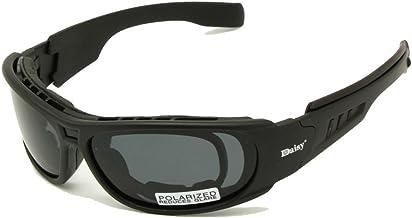 Daisy C6 Polarized Ballistic Army Sunglasses Rx Insert Military Tactical Goggles