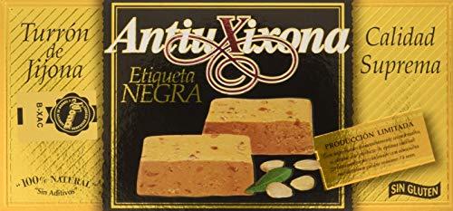 Antiu Xixona - Turrón Etiqueta Negra Jijona Superior, 250 g