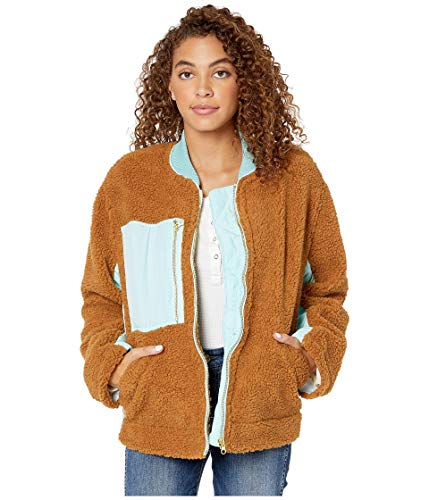 Free People Rivington Sherpa Jacket Brown MD (Women's 8-10)