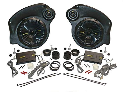 """Select Increments 2007-2018 Compatible with Jeep JK Wrangler Unlimited JKU Pods with Kicker Component 6.75"""" Speakers 30647K"""