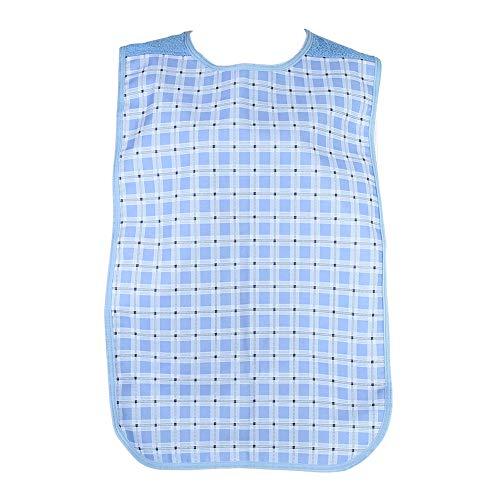 Lätzchen für Erwachsene zum Essen, wasserdichter Kleidungsschutz für ältere Senioren Extra große Essenskleidung Waschbarer Kleidungsschutz für das tägliche Leben 17.7inchX43.3inch
