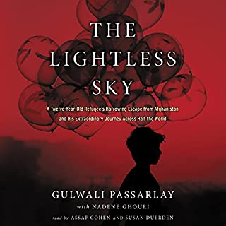 The Lightless Sky audiobook cover art
