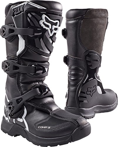 Fox Racing COMP 3Y Boot, Black