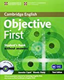 Objective First Certificate - Third Edition / Student's Book without answers with CD-ROM