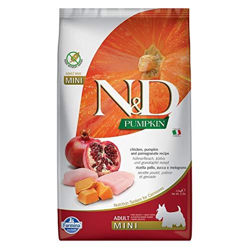 Farmina - Farmina N&D Calabaza y Pollo Adult Mini Grain Free - 2344-2,5 kg