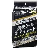 NKK 爽快クール ボディシート ブラック(10枚入)