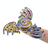 NhLi Fidget Spinner Dragon Eye Métal Main Spinner Doigt Spinner Anti Stress Tri...