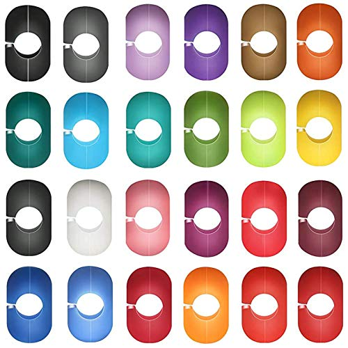 Marcadores de Silicona para Copa de Vino Silicona Marcador de Vidrio Bebida Marcadores de Silicona para Vidrio 24 Piezas Marcadores de Bebida para fiestas identificación y decoración de Bebidas