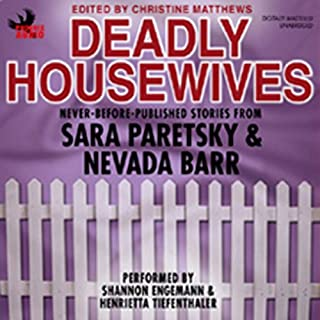 Deadly Housewives audiobook cover art