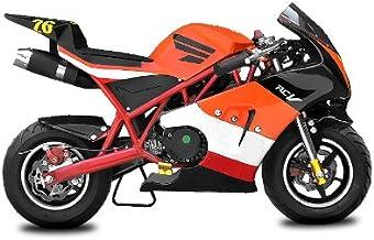 KRS Casco Portachiavi Mini Casco Moto Scooter Chopper Bobber Rot//Schw
