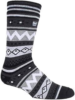 Hombre invierno caliente gruesos termicos calcetines antideslizantes estar por casa