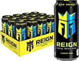 Reign Total Body Fuel, Lemon HDZ, Fitness & Performance Drink, 16 Oz (Pack of 12)