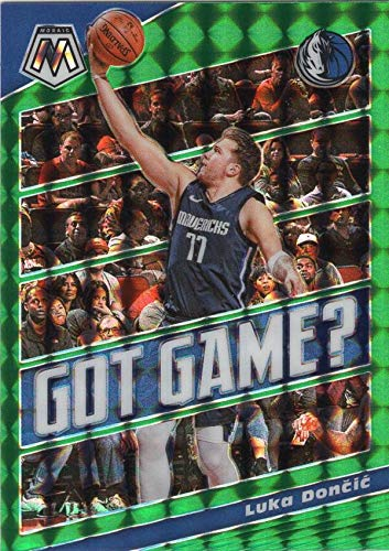 2019-20 MOSAIC GOT GAME? MOSAIC GREEN #11 LUKA DONCIC MAVERICKS...