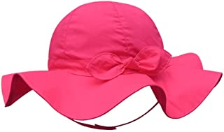 SNW Kid Baby Summer Hat Baby Sun Hat Hip Hop Hat Baseball Cap Baby Cap (20.5 in/3-4 Years, Rose)