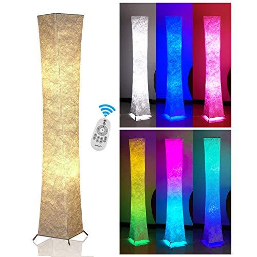 Fy-Light Lámpara de pie LED de diseño moderno de tela lámpara de pie LED para salón