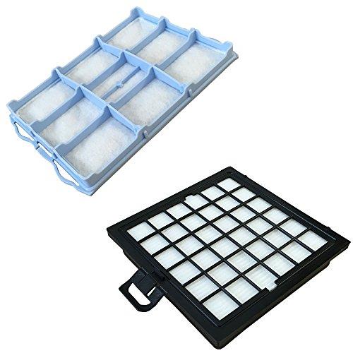 Staubbeutel24 Set HEPA Filter + Motorfilter geeignet Für Bosch Ergomaxx, Home Professional