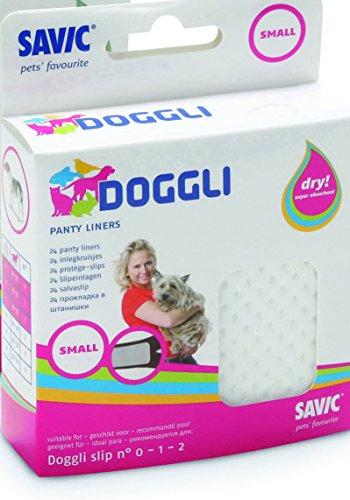 Savic - Serviettes De Protection Doggli Panty Liner Small - Blanc