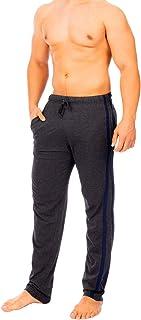 i-Smalls Men's Pyjama Lounge Pants Bottoms Striped with Cord 100% Cotton