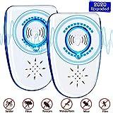 Powerjc - Repellente a ultrasuoni per topi e ratti, dispositivo elettronico anti roditori,...