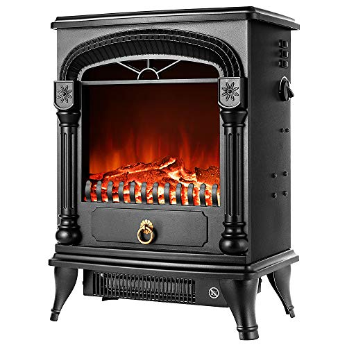 VIVOHOME 110V 20 Inch Portable Free Standing Electric Fireplace Insert Stove...