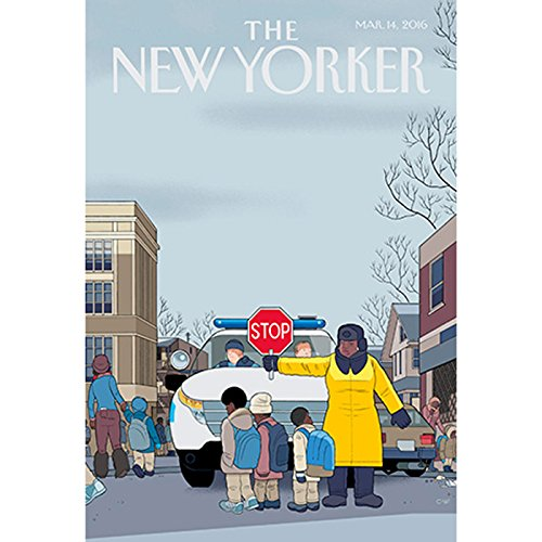 The New Yorker, March 14th 2016 (Jelani Cobb, Sarah Stillman, David Remnick) cover art