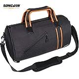 Songwin Sac de Sport avec Compartiment Chaussures, Sacs de Voyage Grande capacité Portable à la Main/sur l'épaule/en...