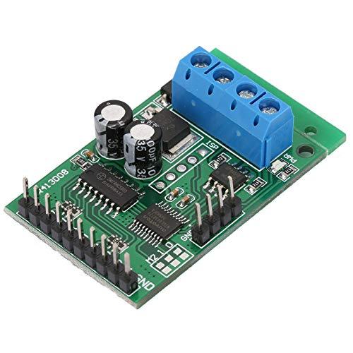 Módulo de relé RS232, placa de interruptor de relé de salida de alto nivel PLC, soporte de PLC de bajo nivel estable Práctico para DC 6-24V AT placa de relé PLC RS485 RS232 (TTL) 45 * 30 *