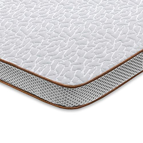 High-Density Memory Foam Mattress Pad with CertiPUR-US /& Ventilated Design 2 Inch Lavender Infused Foam Bed Topper with Microfiber Fitted Cover BedStory Memory Foam Mattress Topper Twin