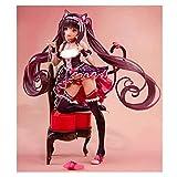 JIANGCJ Hermosa Figura de Anime Figura de acción Nekopara Chocolat y Vainilla 24cm Nendoroide Figurine Collection Decorations Model Kids Toys Doll Regalo (Size : Chocolat)