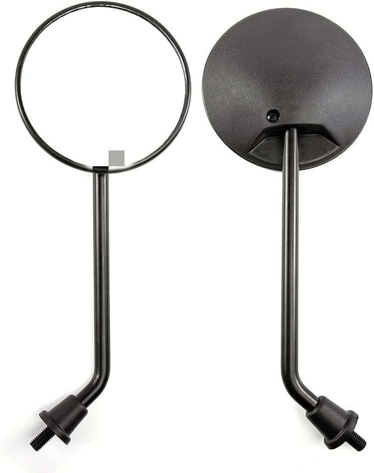 ZQDM Motorcycle Mirror Rearview Parts Scooter Moped Max A surprise price is realized 79% OFF for
