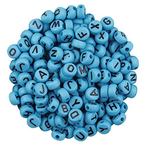 Cuentas DIY Pulsera Alfabeto Letra hecha a mano Collar Cuentas para hacer joyas artesanales DIY Arete Decoración Multicolor Bélgica, A