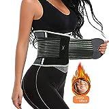 cohaper Women Waist Trimmer Trainer Sport Belt Weight Loss Belly Girdle Body Slim Waist Cincher