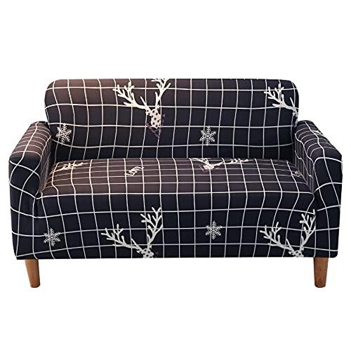 WXQY Funda de sofá para el hogar Funda de sofá de Tela elástica Que Protege el sofá del Desgaste y roturas Funda de sofá elástica Funda de sofá A18 3 plazas