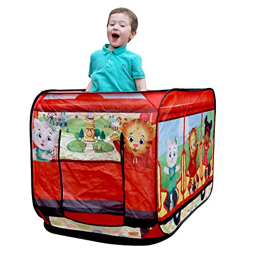M & M Sales Enterprises Daniel Tiger's Trolley Pop-up Tent..