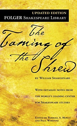 The Taming of the Shrew (Folger Shakespeare Library) by Shakespeare, William (January 1, 2004) Mass Market Paperback