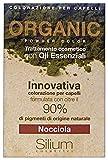 Silium Organica Innovativa Capelli Polvere Colorante, Nocciola - 85 Gr
