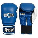Ringside Gel Shock Boxing Super Bag Gloves, Blue, Large