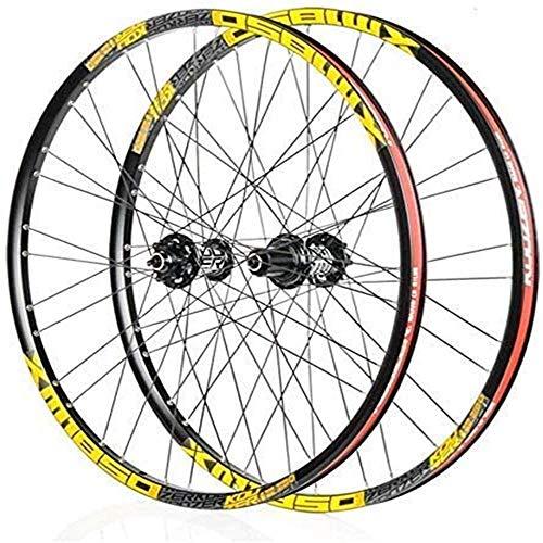ZLYY Juego de llantas de bicicleta de 26/27.5 pulgadas de doble pared...