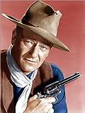 Poster 30 x 40 cm  John Wayne als Cowboy von Evere