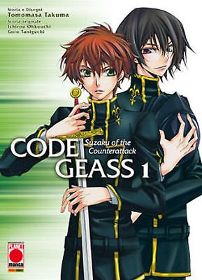 Code Geass: Suzaku of the Counterattack n. 1 di Yomino * ed. Planet Manga
