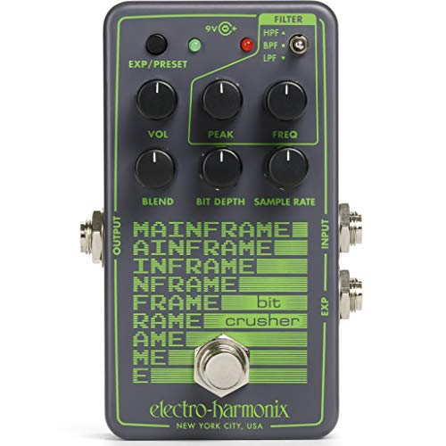 Trituradora de bits Electro Harmonix · Efecto Guitarra