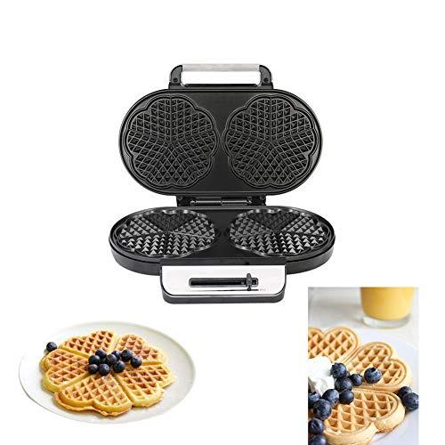 IGRNG Kleingeräte für Küche Doppelkopf-Miniwaffel-Maschine Multifunktionale Haushalt Kuchen Maker Frühstück Maschine Toaster Elektro Baking Pan