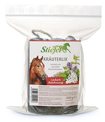 Stiefel - Kräuterlix Bronchialleckstein 1000g